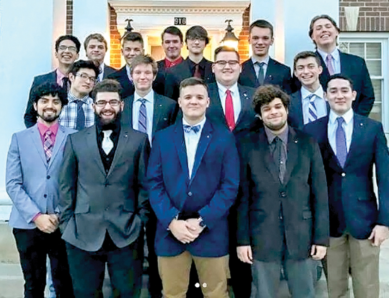 LAMBDA CHAPTER STANDS OUT ON CAMPUS