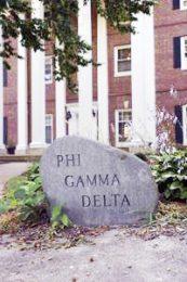 3) Phi Gamma Delta