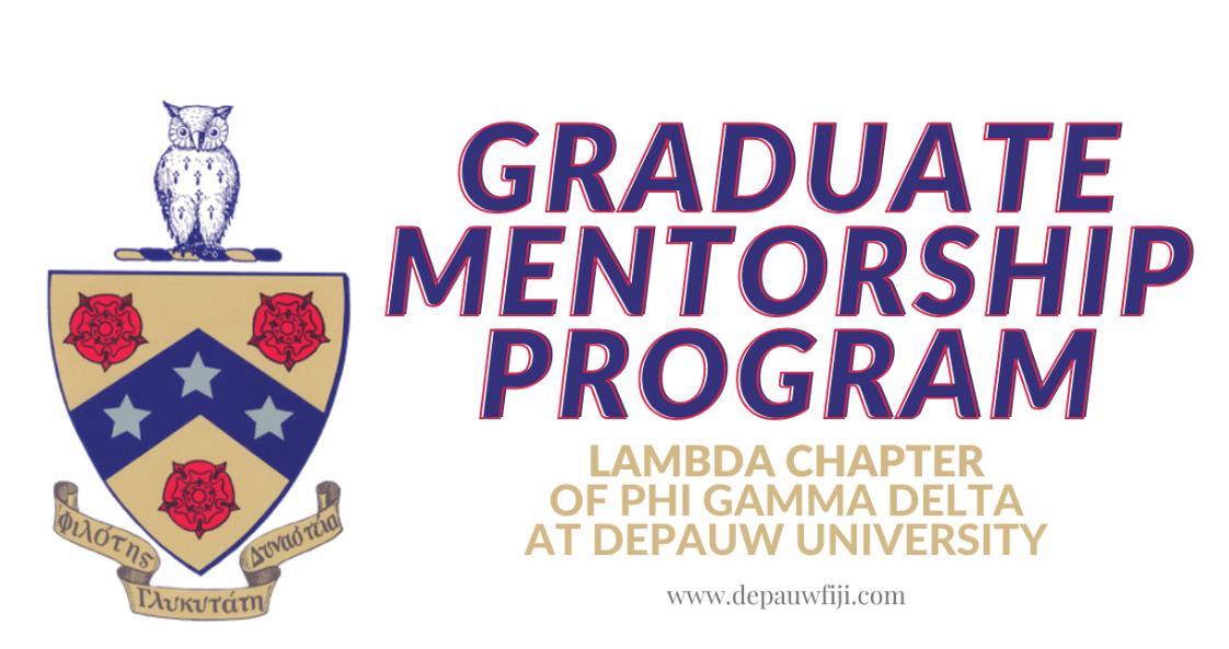 Sign Up Today! Lambda FIJI Mentorship Program